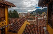 Vista de Bogotá centro
