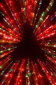 christmas tree lignt zoom