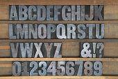 Tipografia de madeira