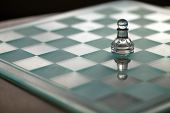 Pawn chess piece - business concept series - small business, strategy, grow, competition