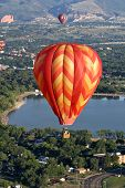hot air ballooning flight