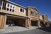Multi Familie Wohnungsbau Rahmung in den westlichen USA.