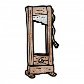 guillotine cartoon