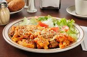 Italian Sausage And Meatball Rigatoni