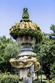 Fountain At Villa Pamphili In Rome