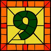 9 - Mosaic number