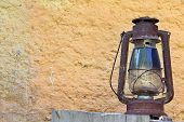 stock photo of edwardian  - Photo of Rural Lantern in the Countryhouse - JPG