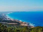 image of mola  - View of Formentera from La Mola Balearic Islands Spain - JPG