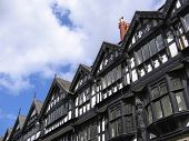 Old Black And White Buildings In Chester