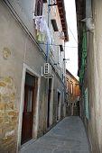 Straat In Koper, Slovenië
