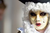 colorful artistic masks on the Carnival of Venice