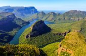 foto of veld  - Blyde River Canyon in Mpumalanga South Africa - JPG