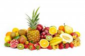 picture of eatables  - fresh tropical fruits - JPG