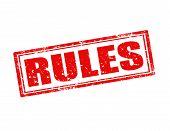 Regeln-Stempel