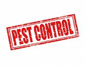 Sello de Control de plagas