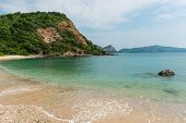 Beautiful Beach On The Gulf Of Rayong, Thailand