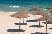 Sunshades On The Beach