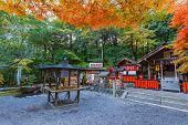 Nonomiya-jinja shrine at Arashiyama in Kyoto