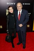 NEW YORK-FEB 4: Former New York mayor Rudy Giuliani and wife Judith Nathan attend the premiere of 'The Monuments Men' at the Ziegfeld Theatre on February 4, 2014 in New York City.