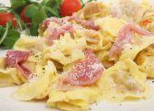 Tortellini Pasta With Parma Ham