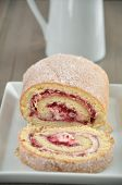 Swiss Roll - Cake Roulade