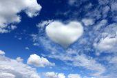 Heart on the sky