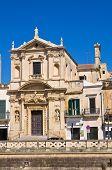 Church of St. Maria della Grazia. Lecce. Puglia. Italy.