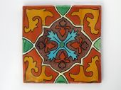 Square Mexican tile
