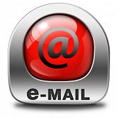 stock photo of mailbox  - email box or mailbox icon e - JPG