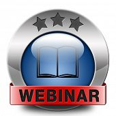 webinar video conference online internet web conference meeting or workshop live video chat