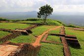 ruins of old Sigiriya castle, Sri Lanka