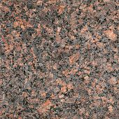 Seamless Red Granite Stone Closeup Background Texture