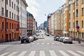 City Helsinki. Cityscape