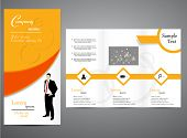 Tri -fold Business brochure design