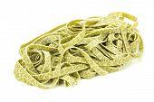 Bundle Of Dried Ribbon Pasta