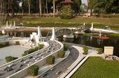 Pathom Boromarachanusorn Bridge In Mini Siam Park