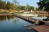 Chao Phraya Dam In Mini Siam Park