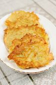 Ukrainian National Dish - Potato Pancakes