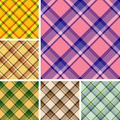 Seamless Plaid Patterns