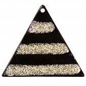 Black Triangle Pendant