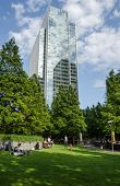 Clifford Chance Offices and Jubilee Park, Docklands