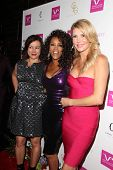 LOS ANGELES - AUG 2:  Jennifer Tilly, Vivica A. Fox, Brandi Glanville at the Vivica A. Fox's Fabulous 50th Birthday Party at the Phillippe Chow on August 2, 2014 in Beverly Hills, CA