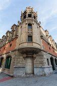 Corner Of Alhondiga Building In Bilbao