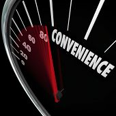 Convenience word on speedometer and needle racing as response time and user freindly service is impr