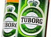 Bottles Of Tuborg Beer