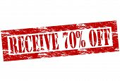 Receive Seventy Percent Off