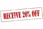 Receive Twenty Percent Off