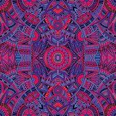 ethnic background seamless pattern