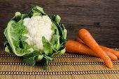 Carrot  And Cauliflower