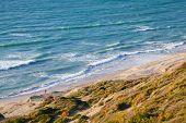 Waves On Atlantic Ocean Coast, Gibraltar Strait, Morocco